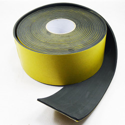 Banda adezivă izolantă pentru ventilație 100 mm, lungime 1 m