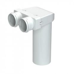 Cutie de difuzie PVC în tavan pentru tuburi Dalap Flexitech Ø 75 mm