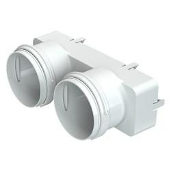 Adaptor reducție pentru conectare tuburi Dalap Flexitech Ø 75 mm