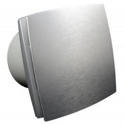 Ventilator de baie cu panou frontal aluminiu fără funcții suplimentare Ø 125 mm, motor puternic