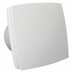 Ventilator de baie cu panou frontal și comutator de timp Ø 100 mm, economic și silențios