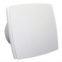 Ventilator de baie cu panou frontal și comutator de timp Ø 125 mm, motor puternic