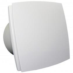 Ventilator de baie cu panou frontal și comutator de timp la 12V în medii umede Ø 150 mm