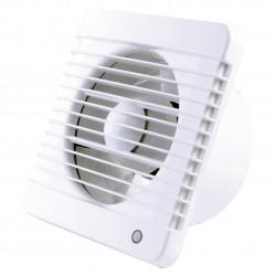 Ventilator de baie cu comutator de timp Ø 100 mm, presiune mai mare a aerului