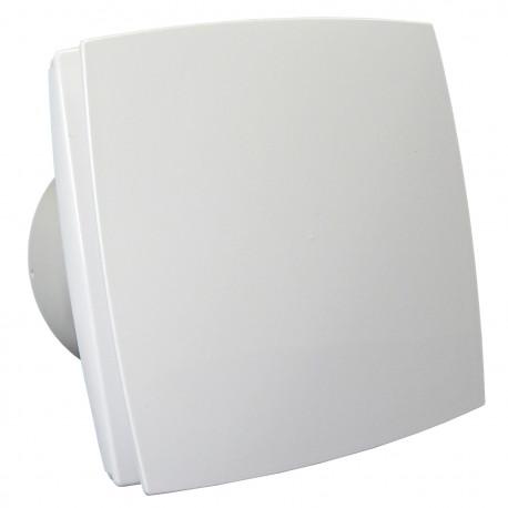 Ventilator de baie cu panou frontal, comutator de timp și senzor de umiditate Ø 100 mm, motor puternic