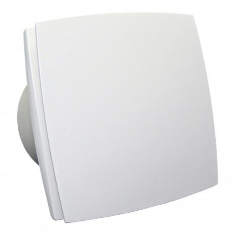 Ventilator de baie cu panou frontal, comutator de timp și senzor de umiditate Ø 125 mm, motor puternic