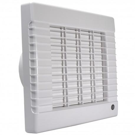 Ventilator de baie cu jaluzele automate, comutator de timp și senzor de umiditate Ø 125 mm, motor puternic