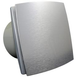 Ventilator de baie cu panou frontal aluminiu la 12V în medii umede Ø 150 mm