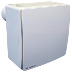 Ventilator de baie cu clapetă antiretur, comutator de timp și presiune mai mare Ø 80 mm, orizontal