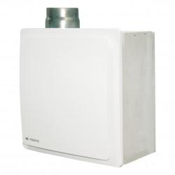 Ventilator de baie cu clapetă antiretur, protecție împotriva incendiilor cu presiune mai mare Ø 80 mm, vertical