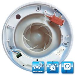 Modul de control cu întrerupător cu fir, higrostat și comutator de timp HTM pentru ventilator iCON