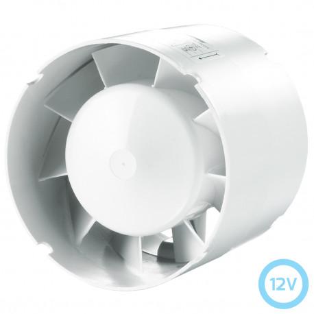 Ventilator mic în conducte la 12V Ø 100 mm