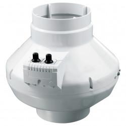 Ventilator de tubulatură radial cu senzor de temperatură și regulator de turație Ø 125 mm