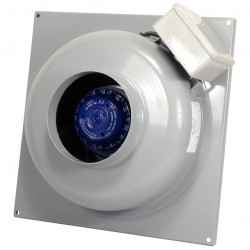 Ventilator de tubulatură cu montare pe perete Ø 125 mm