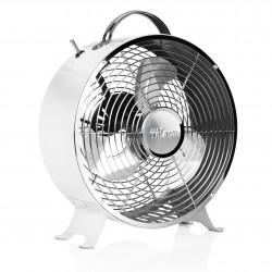 Ventilator de masă în design retro alb VE-5967, Ø 25 cm