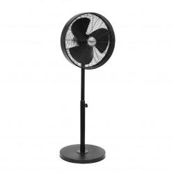 Ventilator cu picior metalic Ø 40 cm în culoare negru