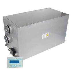 Unitate de recuperare orizontală cu încălzire Ø 150 mm (500 m³/h)