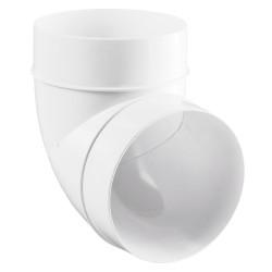 Cot 90° circular plastic Ø 150 mm