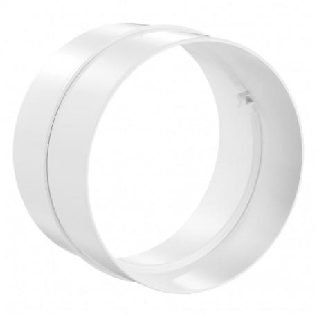 Conector interior PVC circular Ø 125 mm
