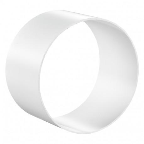 Conector exterior circular plastic Ø 125 mm