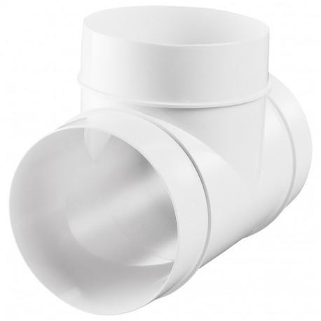 "Ramificație plastică tip ""T"" de Ø 100 mm"