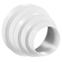 Reducție universală PVC pentru diferite diametre la conducte Ø 80 / 100 / 120 / 125 / 150 / 160 mm