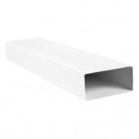 Conductă rectangulară rigidă plastic 204x60 mm, lungime 1000 mm