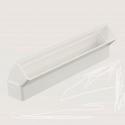 Cot 45° vertical rectangular plastic 308x29 mm