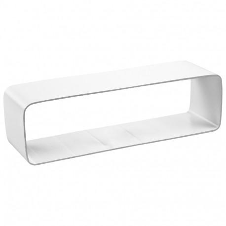 Conector interior PVC rectangular 204x60 mm