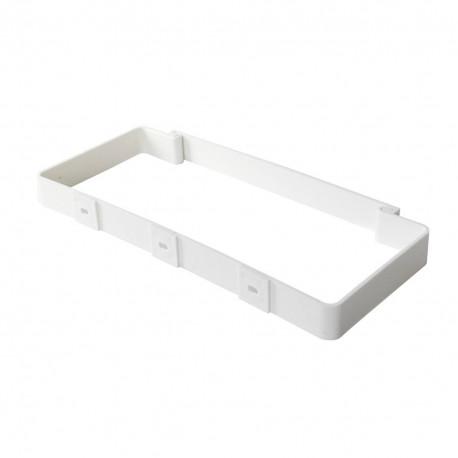 Colier plastic pentru conducte rectangulare 220x90 mm