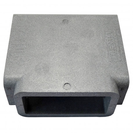"Izolație pentru ramificație tip ""T"" PVC rectangular 220x90 mm"