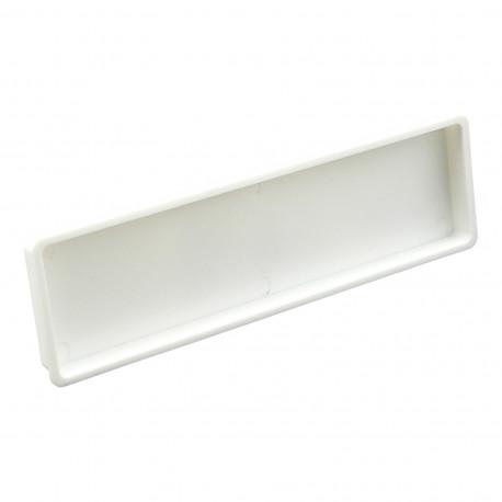 Capac plastic pentru conducte rectangulare 204x60 mm