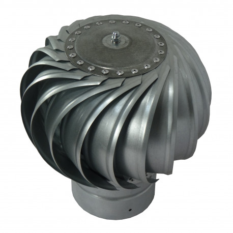 Pălărie terminal rotativă pentru coșuri de fum Dalap DORN Ø 125 mm
