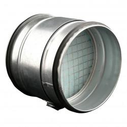 Cutie filtrantă de particule grosiere la conductă circulară Ø 125 mm