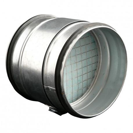 Cutie filtrantă de particule grosiere la conductă circulară Ø 150 mm