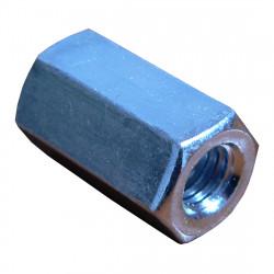 Mufă pentru tije filetate Ø 8 mm, lungime 30 mm