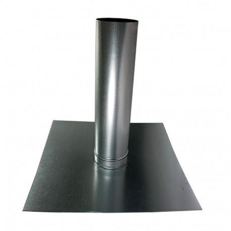 Trecere aerisire acoperiș pentru conducte ventilație Ø 125 mm
