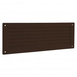 Grila de ventilație PVC pentru ușă 462x124 mm, maro
