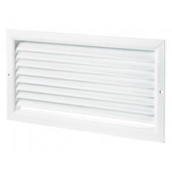 Grilă de ventilație din aluminiu extrudat de înaltă calitate 250x150 mm, albă