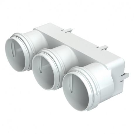 Adaptor reducție pentru conectare tuburi Dalap Flexitech Ø 63 mm