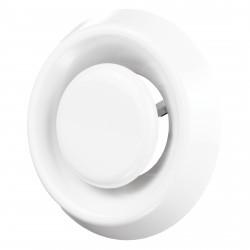 Anemostat PVC de evacuare Ø 80 mm fără flanșă