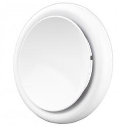 Anemostat metalic de refulare, Ø 150 mm alb