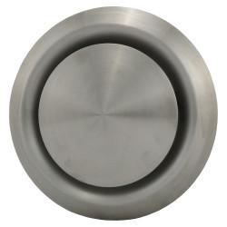 Anemostat din oțel inoxidabil de evacuare Ø 100 mm