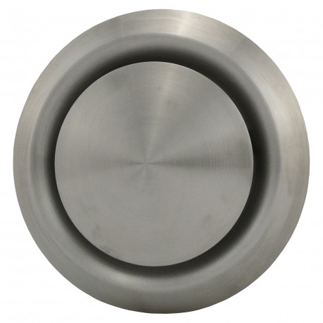 Anemostat din oțel inoxidabil de evacuare Ø 125 mm
