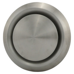 Anemostat din oțel inoxidabil de evacuare Ø 150 mm