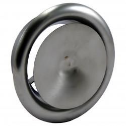 Anemostat din oțel inoxidabil de refulare Ø 160 mm