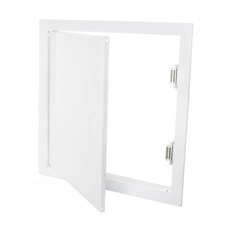 Ușă de vizitare metalică cu mâner 298x398 mm