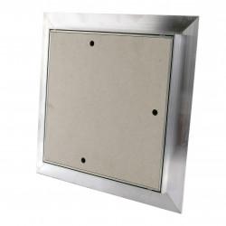 Ușă de vizitare împotriva prafului pentru plăci gips carton și perete 200x200 mm