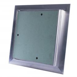 Ușă de vizitare împotriva prafului 200x200 mm rezistentă la umiditate în plăci gips carton și sub faianță