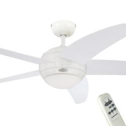 Ventilator de tavan cu lumină și telecomandă Westinghouse Bendan 72140, Ø 132 cm